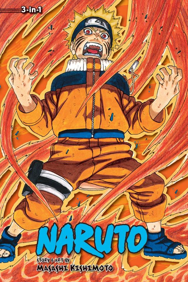 Naruto Vol. 9 (3-in-1)
