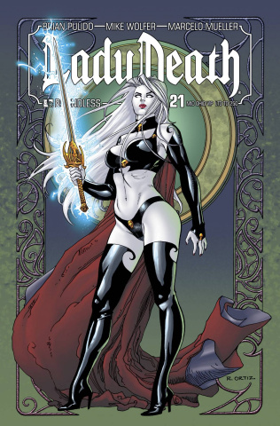 Lady Death #21 (Mid Ohio VIP Cover)