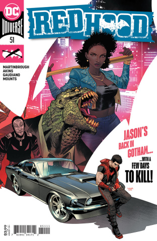 Red Hood #51 (Dan Mora Cover)