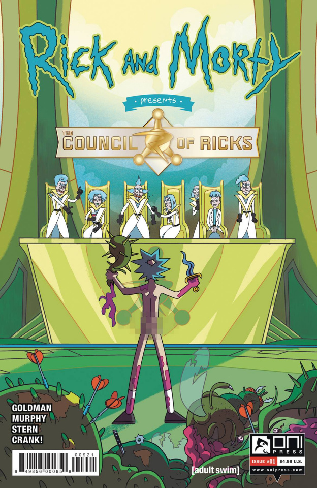 Rick and Morty Presents The Council of Ricks #1 (Scott Cover)