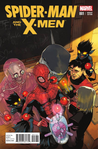 Spider-Man and the X-Men #1 (Bengal Cover)