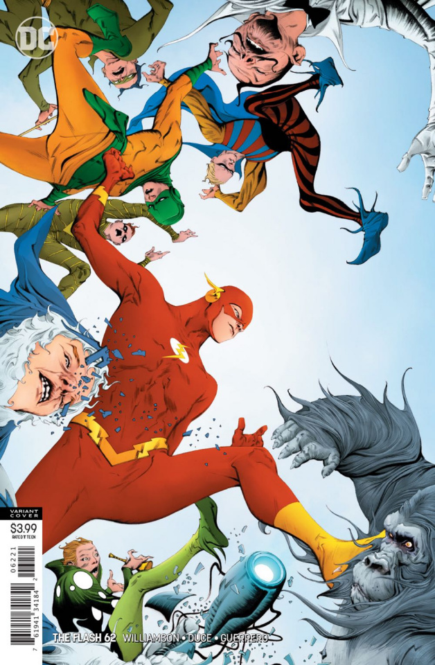 The Flash #62 (Variant Cover)