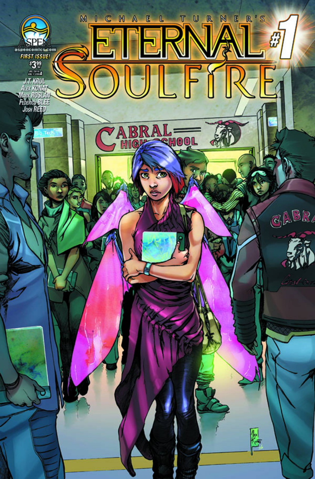 Eternal: Soulfire #1 (Direct Market Cover A)