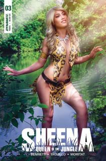 Sheena #3 (Cosplay Cover)