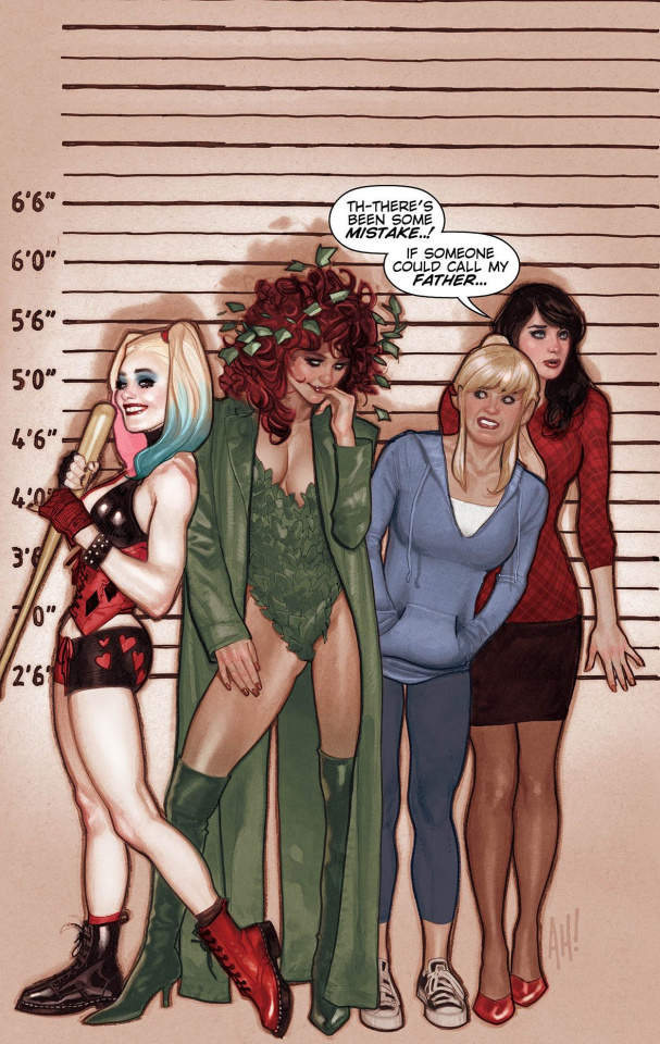 Harley and Ivy Meet Betty and Veronica #1 (Variant Cover)
