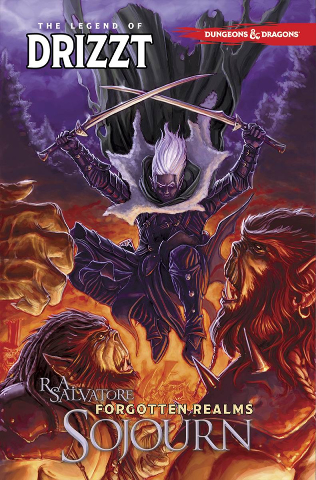 Dungeons & Dragons: The Legend of Drizzt Vol. 3: Sojourn