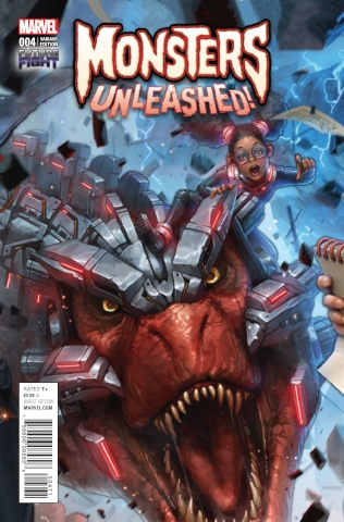 Monsters Unleashed! #4 (Video Game Cover)