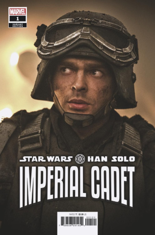 Star Wars: Han Solo, Imperial Cadet #1 (Movie Cover)