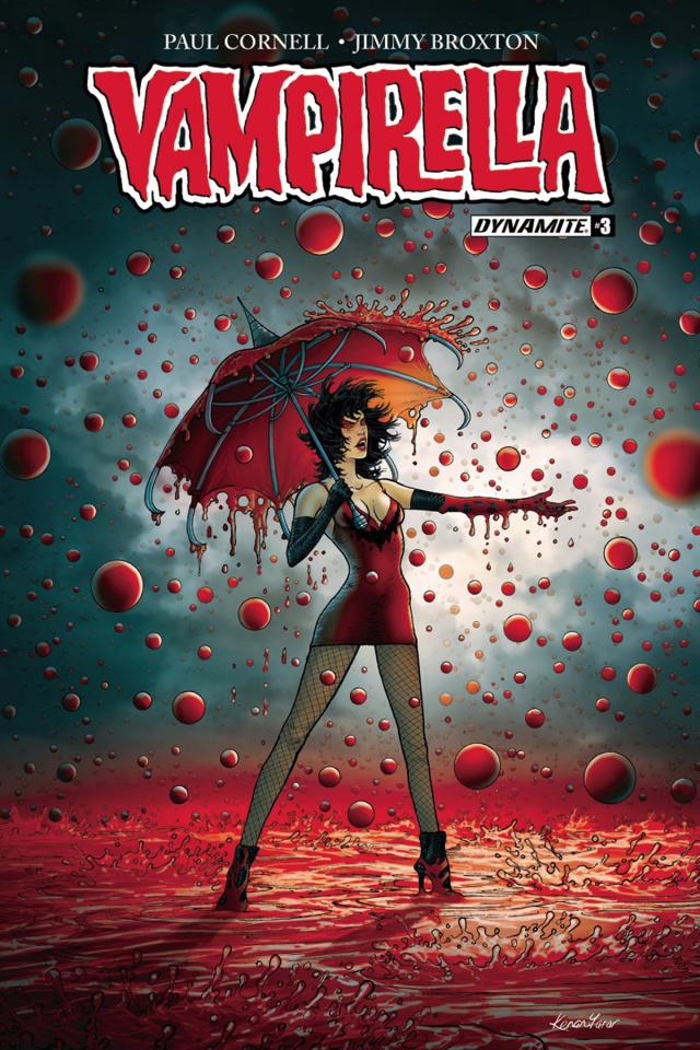 Vampirella #3 (Yarar Cover)