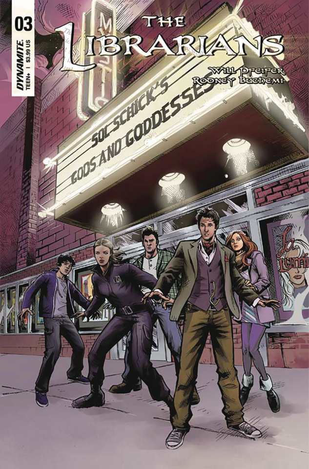 The Librarians #3 (Moline Cover)
