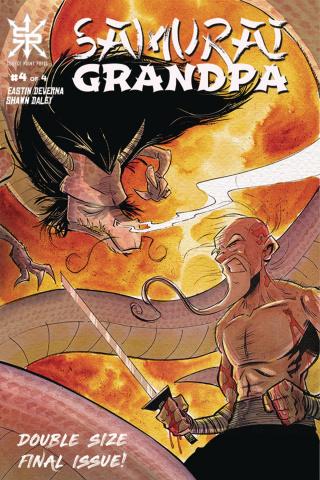 Samurai Grandpa #4