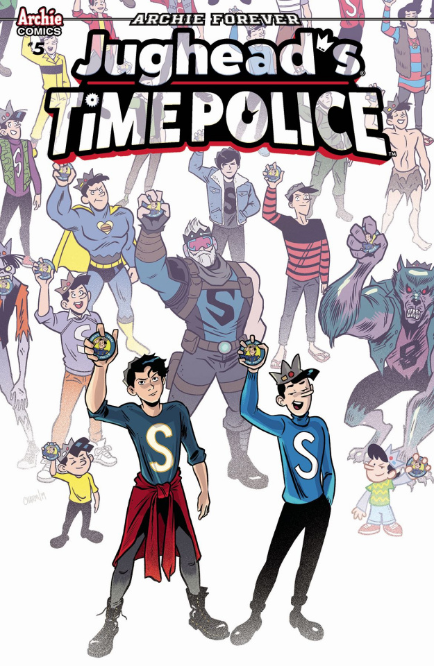 Jughead's Time Police #5 (Charm Cover)