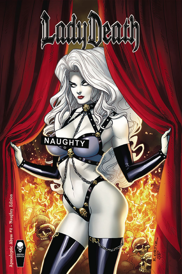 Lady Death: Apocalyptic Abyss #2 (Naughty Cover)