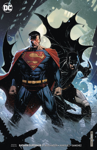Batman / Superman #5 (Card Stock Cover)