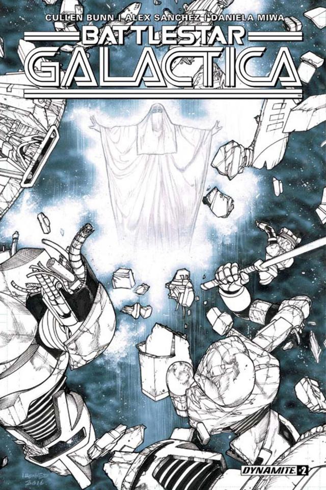 Battlestar Galactica #2 (10 Copy B&W Cover)