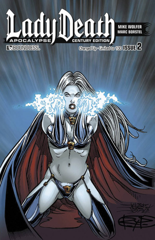 Lady Death: Apocalypse #2 (Century Edition 7 Cover Set)