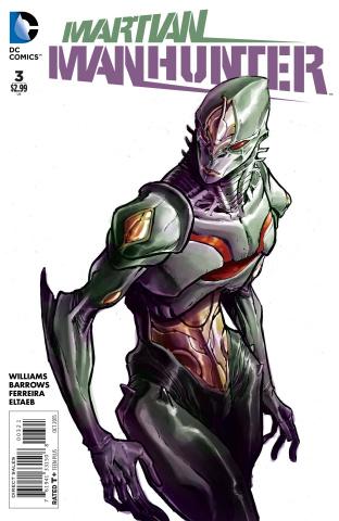 Martian Manhunter #3 (Variant Cover)