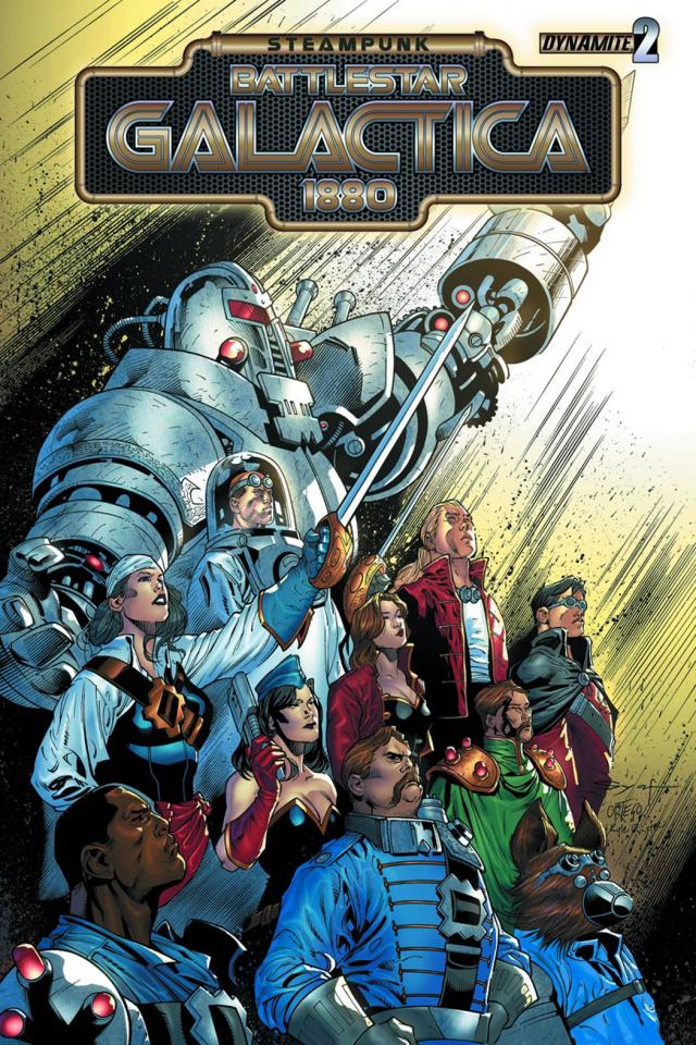 Steampunk Battlestar Galactica: 1880 #2