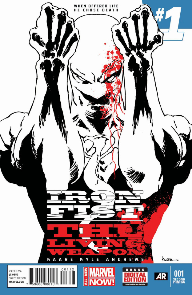Iron Fist: The Living Weapon #1 (2nd Printing)