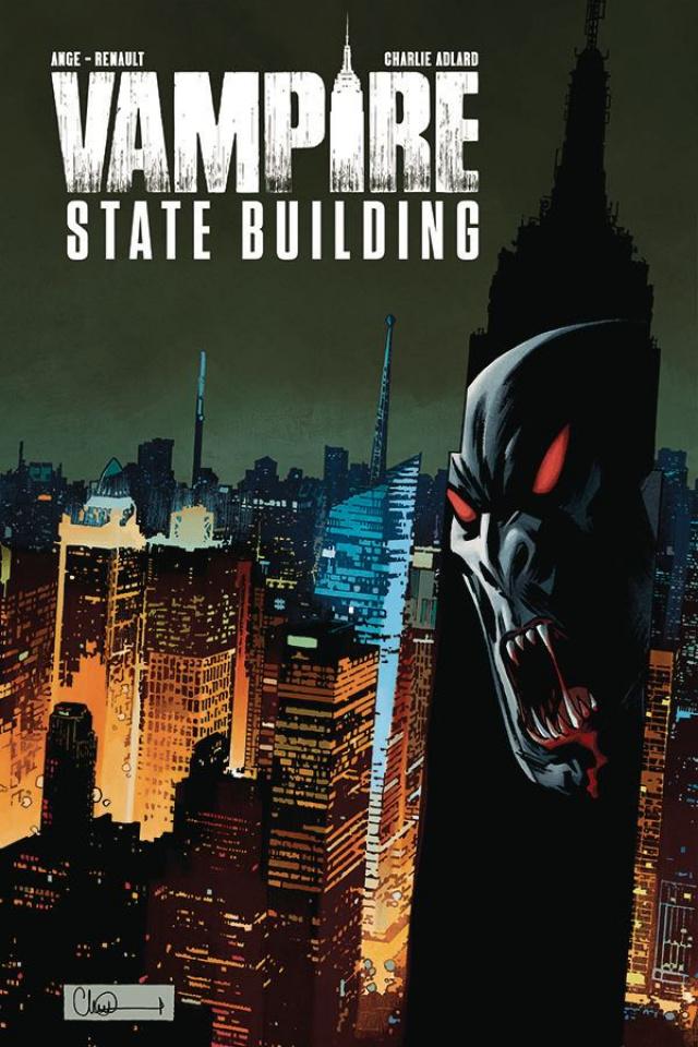 Vampire State Building #3 (Adlard Cover)