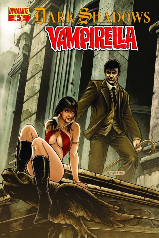 Dark Shadows / Vampirella #5