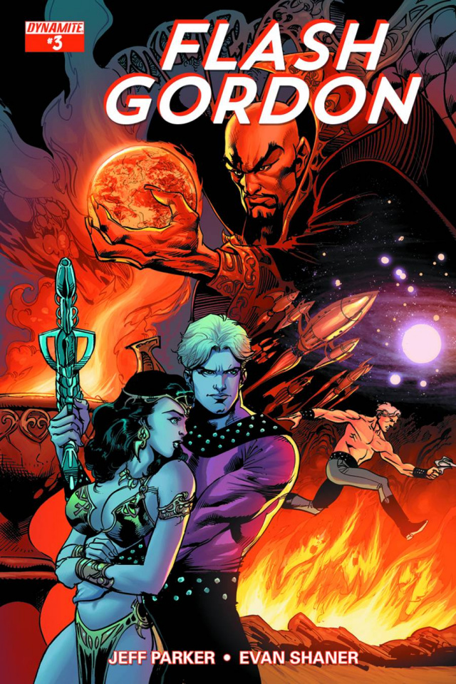 Flash Gordon #3 (80th Anniversary Cover)