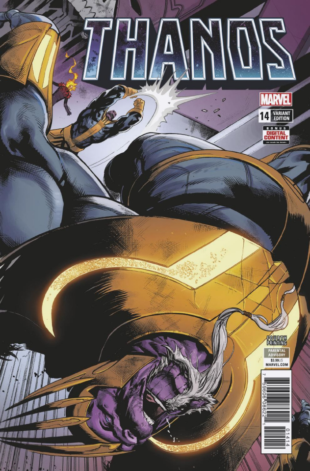 Thanos #14 (Shaw 4th Printing)