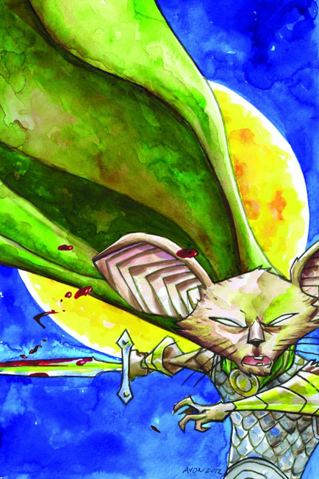 Mice Templar: The Legend #1 (Oeming Cover)