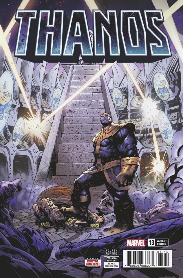 Thanos #13 (Shaw 4th Printing)
