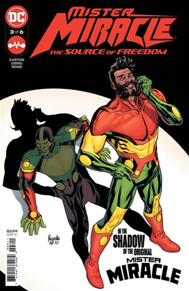 Mister Miracle: The Source of Freedom #3 (Yanick Paquette Cover)