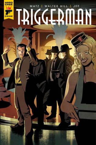 Hard Case Crime: Triggerman #2 (Calero Cover)