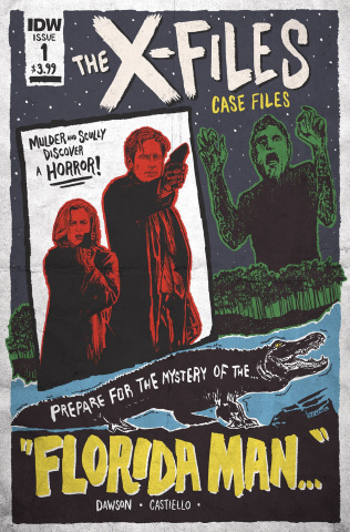 The X-Files Case Files: Florida Man #1 (Lendl Cover)
