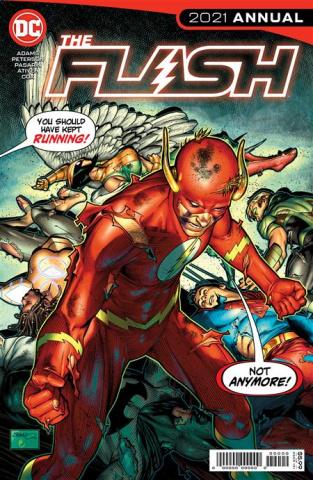 The Flash 2021 Annual #1 (Brandon Peterson Cover)