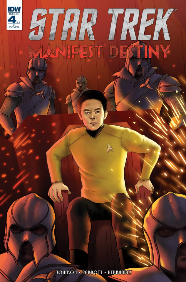 Star Trek: Manifest Destiny #4 (10 Copy Cover)