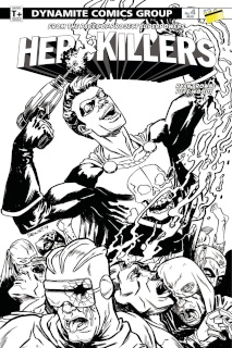 Project Superpowers: Hero Killers #4 (10 Copy Cover)