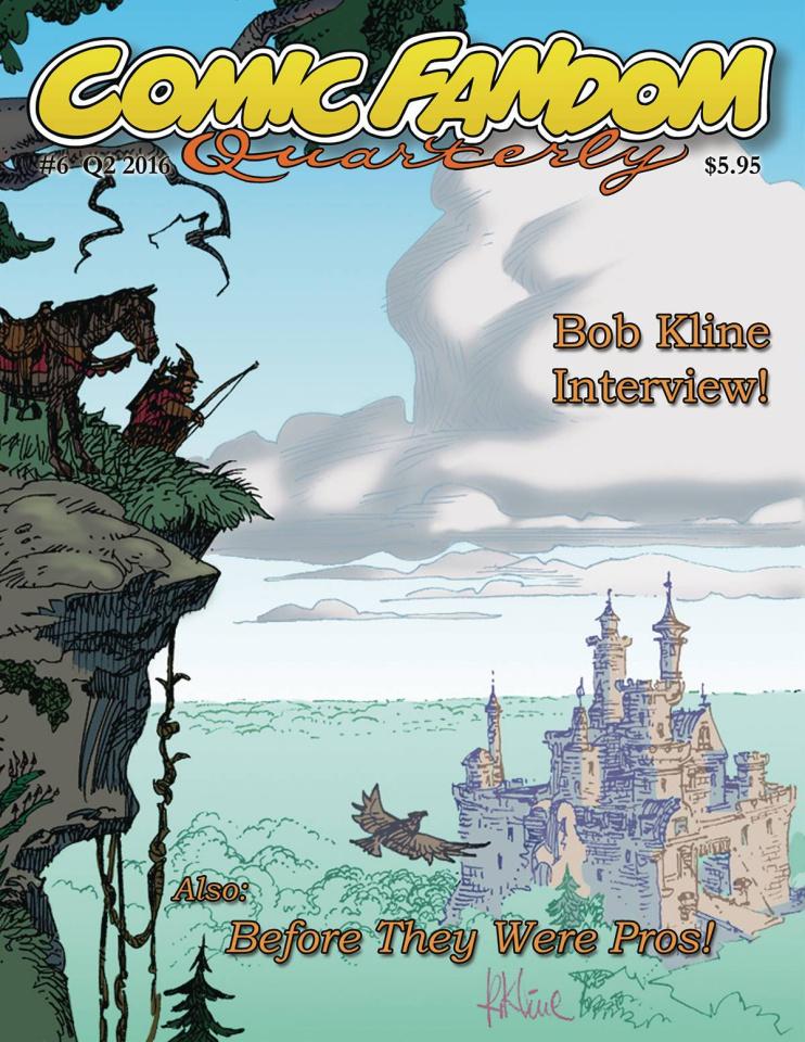 Comic Fandom Quarterly #6