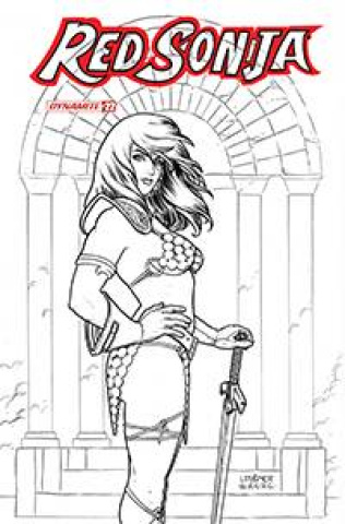 Red Sonja #22 (10 Copy Linsner B&W Cover)