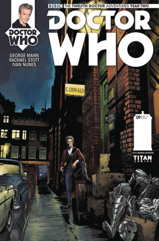 Doctor Who: New Adventures with the Twelfth Doctor, Year Two #9 (Laclaustra Cover)