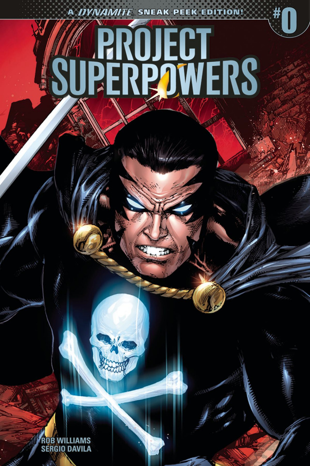 Project Superpowers #0 (40 Copy Cover)