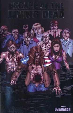 Escape of the Living Dead Annual #1 (Platinum Foil Cover)