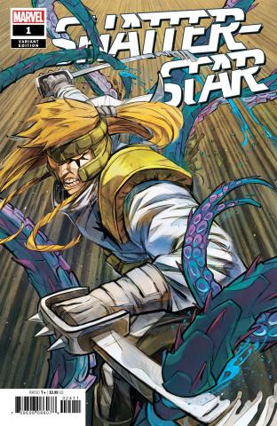 Shatterstar #1 (Shavrin Cover)