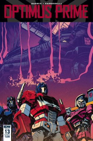 Optimus Prime #13 (Zama Cover)
