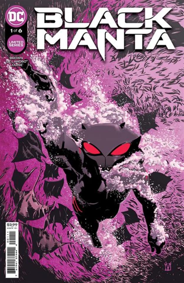 Black Manta #1 (Valentine De Landro Cover)