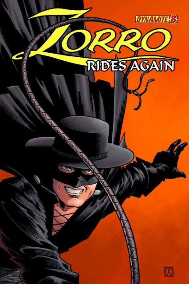 Zorro Rides Again #8