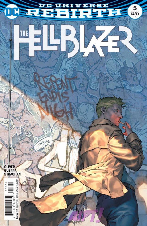 Hellblazer #5 (Variant Cover)