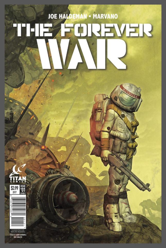 The Forever War #4 (Listrani Cover)