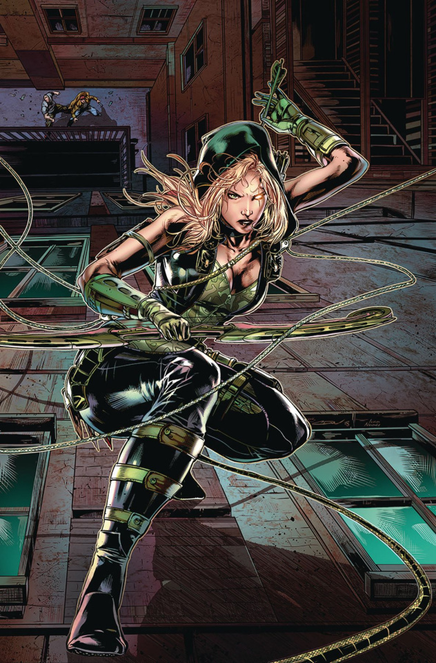 Robyn Hood: Outlaw #2 (White Cover)