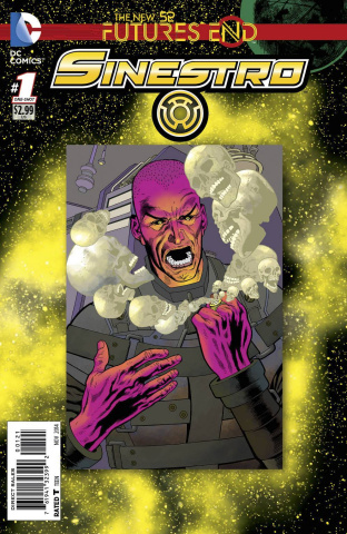Sinestro: Future's End #1 (Standard Cover)