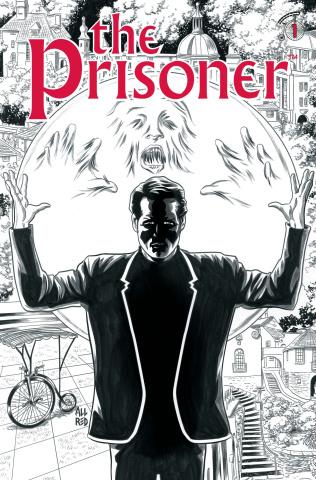 The Prisoner #1 (Allred B&W Cover)