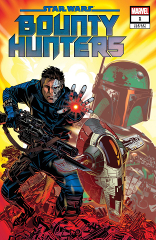 Star Wars: Bounty Hunters #1 (Golden Cover)